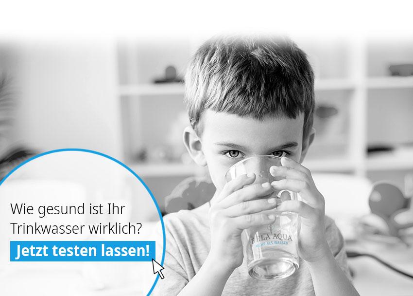 Trinkwasser jetzt testen lassen