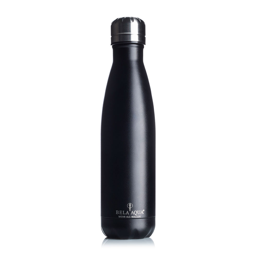 "Thermosflasche ""Classic black"""