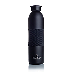 "Thermosflasche ""Elegance black"""